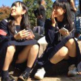 """【Pcolle】JK座りパンチラの頂点""""vol.166"""""""