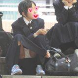 【Pcolle】JC~JKの座りパンチラ盗撮!