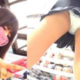 【Pcolle】アイドルJKのパンチラ逆さ撮り!階段もあるよ!