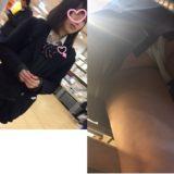 【Pcolle】激カワJK2日分逆さ撮り!