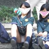"""【Pcolle】新たな""""JK座りパンチラ""""の伝説級作品か!?"""
