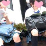 【Pcolle】座りパンチラ撮りまくりっ!あの新栄JKも生ぱん!?